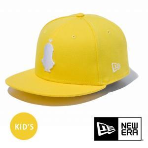 帽子 メンズ  ニューエラ キッズ キャップ NEW ERA 帽子 Youth 9FIFTY ミニオン ケビン シルエット サイバーイエロー 11909120|protocol