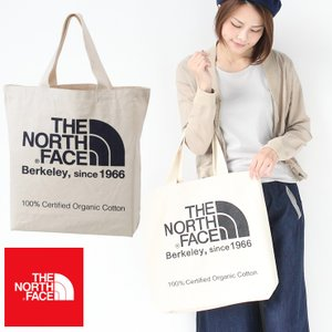 トートバック 大きめ ノースフェイス トートバッグ TNFオーガニックコットントート THE NORTH FACE NM81971|protocol