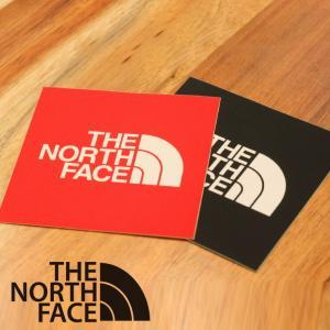 アウトドアブランドステッカー ノースフェイス ステッカー THE NORTH FACE スクエアー ロゴ ステッカー NN32014|protocol