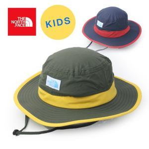 ノースフェイス キッズ ホライズンハット THE NORTH FACE Kids' Horizon Hat アウトドアウェア カジュアル 帽子  子供 紫外線 日差し防止|protocol