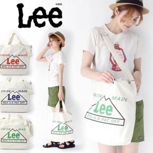 Lee トートバッグ 2way 新作 リー マウンテンプリント ショルダーバッグ キャンバス メンズ レディース ブランド|protocol