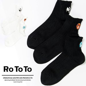ロトト ROTOTO BRU RoTo 3 SOCKS 靴下 3ソックス ソックス ルチャ|protocol