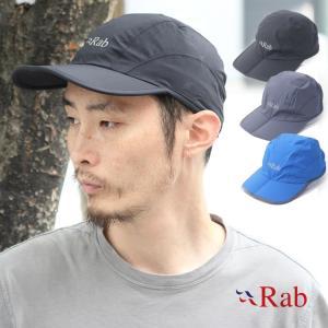 帽子 メンズ  Rab ラブ キャップ SPARK CAP 折りたたみ ランニングキャップ 軽量 防水 サイズ調整可能 / 送料無料|protocol
