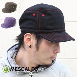 帽子 メンズ MESCALITO メスカリート WOOL WORK CAP|protocol