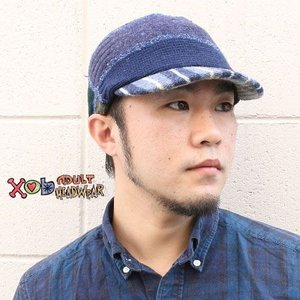 xob ゾブ Knit Cap Standard ツバ付きニットキャップ 帽子 protocol