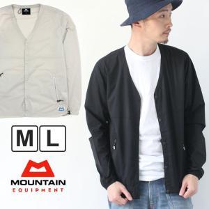 マウンテンイクイップメント ジャケット メンズ MOUNTAIN EQUIPMENT カーディガン EASY CARDIGAN 4225174 ライトグレー Mサイズ|protocol