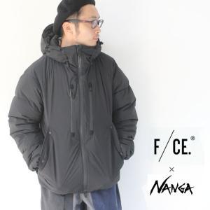 f/ce nanga ダウン エフシーイー ジャケット ナンガ BOMB JACKET ダウンジャケット メンズ 秋冬 ダウン ブラック M/Lサイズ 日本製|protocol