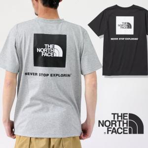 ノースフェイス tシャツ THE NORTH FACE ショートスリーブバックスクエアー ロゴ Tee NT32144 Tシャツ 半袖|protocol
