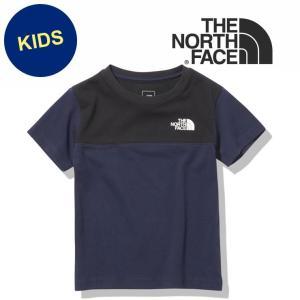 ノースフェイス tシャツ キッズ THE NORTH FACE ショートスリーブ ブロックド Tシャツ キッズ ベビー UVカット 半袖|protocol