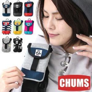 チャムス スマホケース スエット CHUMS モバイルパッチドケーススウェットナイロン CH60-2364 スマホ ポーチ protocol