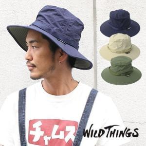 フェス 帽子 レディース ブランド WILDTHINGS SAFALI HAT ワイルドシングス サファリハット メンズ 春 夏 春夏|protocol