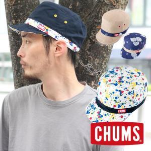 フェス 帽子 メンズ ブランド レディース CHUMS チャムス リバーシブルプリントキャップ CH05-1117|protocol