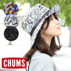 フェス アウトドア ハット メンズ メッシュ チャムス 帽子 CHUMS CH05-1156 レディース 登山 山登り 便利グッズ 送料無料|protocol