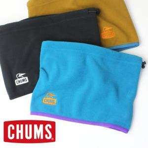 ネックウォーマー CHUMS チャムス リサイクルチャムリーフリースネックウォーマー Recycle Chumley Fleece Neck Warmer CH09-1219 マフラー protocol