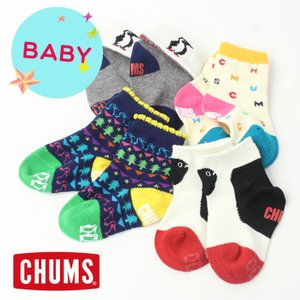 チャムス 靴下 キッズ CHUMS BABY BOOBY Socks ベイビー ブービー ソックス CH26-1001|protocol