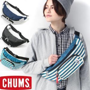 チャムス ボディバッグ ナイロン CHUMS Fanny Pack Sweat Nylon CH60-0685|protocol