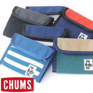 CHUMS チャムス 財布 / CHUMS TRIFOLD WALLET SWEAT NYLON CH60-0696|protocol