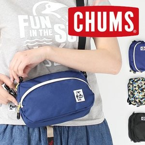 CHUMS チャムス Eco Shoulder Pouch エコショルダーポーチ CH60-0846|protocol