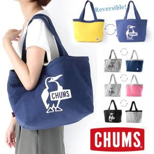 チャムス トートバッグ 大きい CHUMS リバーシブル トート スウェット CH60-2186|protocol