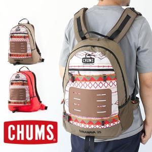 フェス バッグ リュック チャムス 大容量 CHUMS Sinawava 25 シナワバ CH60-2218 25l|protocol