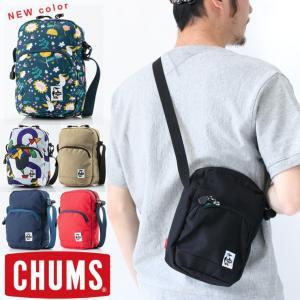 フェス バッグ ショルダー ペットボトル チャムス chums CH60-2535 メンズ レディース アウトドア 便利グッズ キャンプ 送料無料|protocol
