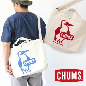 CHUMS チャムス Booby Canvas Shoulder ブービーキャンバスショルダー ボディーショルダーバッグ トートバッグ CH60-2557 / ショルダーバッグ メンズ|protocol