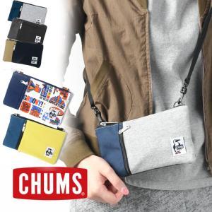 チャムス ショルダーバッグ アウトドアブランド メンズ レディース CHUMS スウェットナイロン CH60-2683 キャンプ アウトドアブランド|protocol