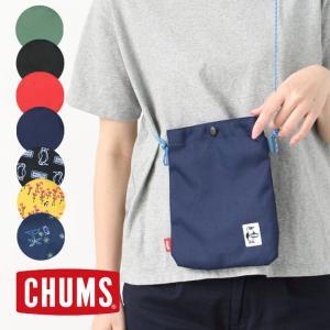 フェス バッグ ショルダー スポーティ チャムス chums スナップ サコッシュ CH60-2734 キャンプ 便利グッズ ファッション 小物 おしゃれ ブランド|protocol
