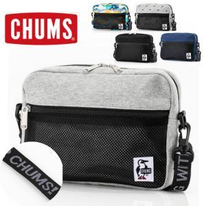 チャムス ショルダー バッグ CHUMS スウェット CH60-3010 ショルダーポーチ メンズ ...