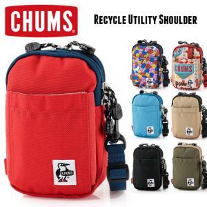 チャムス ショルダーバッグ メンズ レディース CHUMS Recycle Utility Shoulder リサイクルユーティリティショルダー CH60-3124 protocol