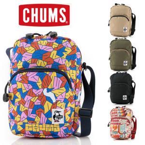 チャムス ショルダーバッグ メンズ レディース CHUMS リサイクルバーチカルショルダーパック CH60-3125 ナイロン protocol