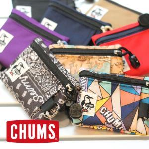 チャムス 財布 子供 キーコイン コインケース パスケース 定期入れ キーケース カードケース CHUMS CH60-3148 小銭入れ 財布|protocol