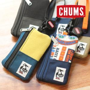 チャムス コインケース コインパスケース 財布 子供 アウトドアブランド CHUMS コミューターパスケーススウェットナイロン CH60-3249|protocol