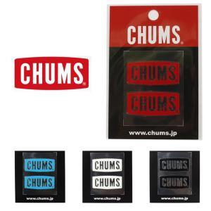 ステッカー チャムス 車 バイク アウトドア ブランド CHUMS Logo Emboss Stic...