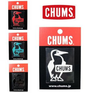 ステッカー チャムス 車 CHUMS ステッカー Booby Bird Emboss Sticker CH62-1126 キャンプ ステッカー ランドロゴシール|protocol