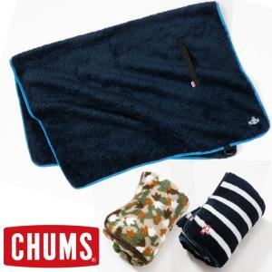 チャムス CHUMS Fleece Elmo Blanket フリースエルモブランケット|protocol
