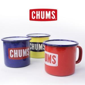 CHUMS チャムス Boat Logo Enamel Mug Cup ボートロゴエナメルマグカップ キッチン用品 CH62-1190|protocol