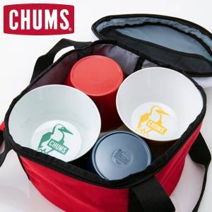 チャムス お皿 CHUMS アウトドア メラミンディッシュセット Melamine Dish Set CH62-1237|protocol