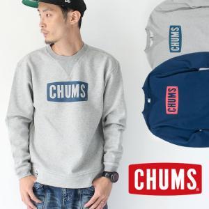 チャムス トレーナー メンズ CHUMS Boat Logo Crew Top CH00-1086|protocol
