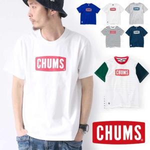 チャムス Tシャツ メンズ 新作 CHUMS 半袖 山登り 登山 ブランド キャンプ フェス ファッション ブランド 春 夏 春夏 CH01-1324 送料無料|protocol