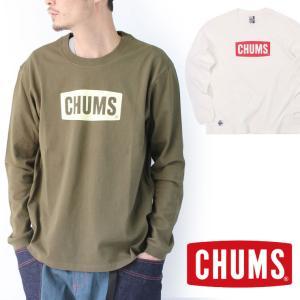 チャムス ロンt メンズ Tシャツ 長袖 CHUMS ロングTシャツ キャンプ 服装 ブランド 大きいサイズ 白 ホワイト CH01-1828|protocol