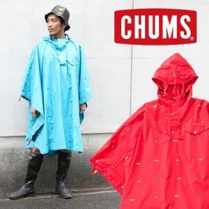チャムス ポンチョ レインコート ブランド CHUMS カッパ アンデスポンチョ CH04-1023 protocol