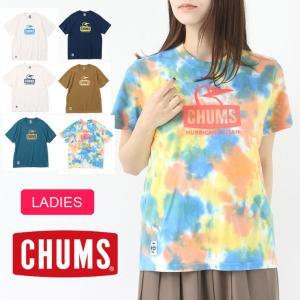 CHUMS チャムス キャンプ 服装 女子 春 Tシャツ レディース ブービーフェイス CH01-1834 春 夏 春夏 protocol