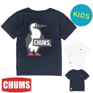 チャムス Tシャツ キッズ ブービー CHUMS Kid's Booby Logo T-Shirt CH21-1034 protocol