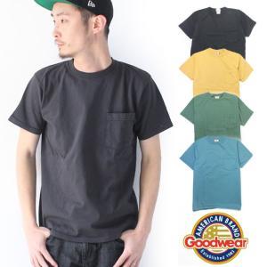 グッドウエア Tシャツ メンズ GOOD WEAR tシャツ メンズ 半袖 ポケットTEE / 送料無料|protocol