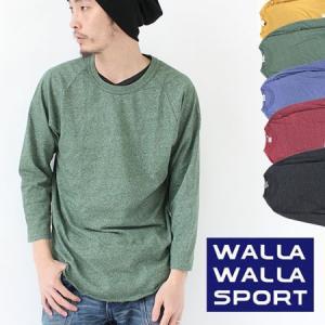 ワラワラスポーツ ラグラン 7分 WALLA WALLA SPORT BASEBALL MOCK TWIST|protocol
