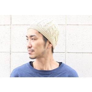 ニット帽 メンズ 冬 大きい 帽子 秋 イスラム帽 コットン ケーブル編み ワッチキャップ イスラム帽 ビーニー 秋冬|protocol|05