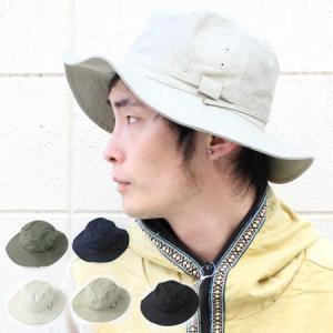 帽子 メンズ  サファリハット ベーシック サファリハット アウトドア 大きい UVカット ひも付き ハット つば広 日除け 日よけ 紫外線対策|protocol