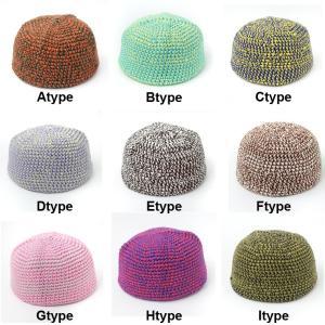 ニット帽 イスラムワッチ イスラム帽 マーブル 帽子 ニット帽 イスラム帽子 ワッチキャップ ビーニー イスラムキャップ protocol 03