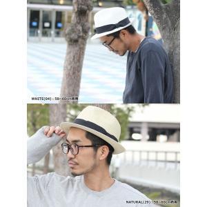 麦わら帽子 メンズ 大きめ 62 釣り ハット 帽子夏 大きいサイズ用 ストローハット 大きめ レディース|protocol|03